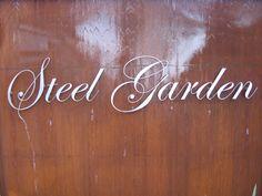 CorTenstaal - Steel Garden - CorTenstaal Neon Signs, Steel, House, Home, Homes, Steel Grades, Houses, Iron