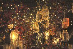 Decorations - Hanging Mason Jars with Lights