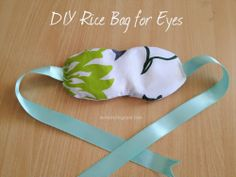 DIY Rise Bag for Eyes... this would make a nice larger hot/cold pal design too!