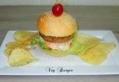 Shobha's Food Mazaa: VEG BURGER / MIXED VEGETABLE CUTLETS