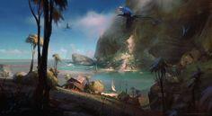 Azure Cove by Wildweasel339 on DeviantArt