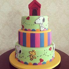 bolo do snoopy / cake Fleur De Sucre @fleur_de_sucre | Websta (Webstagram)
