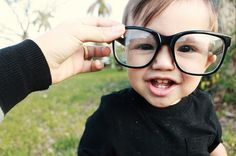 hipster baby :)
