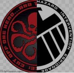 Half HYDRA SHIELD Logo