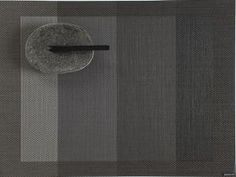 Color Tempo Rectangle Placemat in Slate
