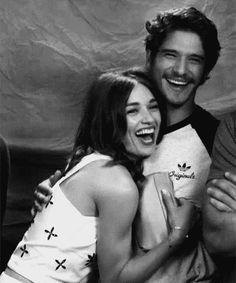 tyler posey, crystal reed, and scott mccall image