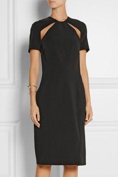 Ferocious. DION LEE Cutout crepe dress