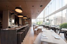 Daishō Restaurant in Toronto by James KM Cheng and The Design Agency