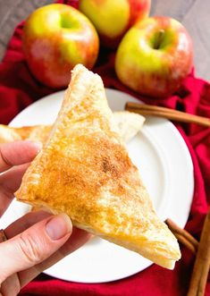 Easy Apple Turnovers ~ This Easy Apple Turnovers Recipe is Perfect for a Quick and Easy Breakfast, Snack or Dessert! You can serve them up for a breakfast treat and they are the perfect dessert while still warm with some ice cream on top! Apple Dessert Recipes, Apple Recipes, Easy Desserts, Breakfast Recipes, Apple Snacks, Sweet Desserts, Breakfast Ideas, Delicious Desserts, Yummy Food