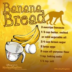 Craving banana bread? Try this One-Bowl Banana Bread recipe from Babble. http://di.sn/6003NurF