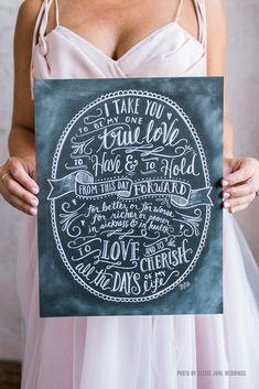 Wedding Vows - Print
