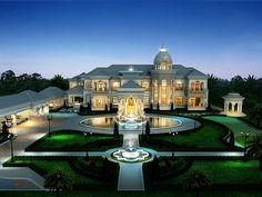 The Grand Royal Home style: Barocco Style สไตล์ Barocco พื้นที่ใช้สอย 2,000 ตร.ม. (75 x 75 ม.) 1,406 ตร.ว. 6 ห้องนอน, 7 ห้องน้ำ, ที่จอดรถ 9 คัน พื้นที่ใช้สอยรวม อาคารบริวาร,สระน้ำด้านหลัง ทั้งหมดประมาณ 4,000 ตร.ม. ซึ่งบ้านหลังนี้ได้สะท้อน Concept ที่เพียบพร้อมไปด้วยส่วนอำนวยความสะดวกต่างๆที่สมบูรณ์แบบ ไม่ว่าจะเป็น ส่วนพักรับรองแขก, ส่วนประชุมและจัดเลี้ยง,ส่วนออกกำลังกายที่มีทั้งสระว่ายน้ำ Fitness และสนามพัทกอล์ฟ