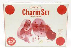 こんばんは☆久し振りの登場です♪80~90年代にかけて日本のメーカーが作った'ハートカンパニー/チャームセット'です開封はされておりますが、完品・未使用・美品…