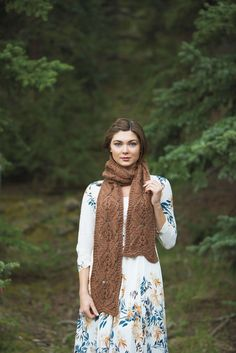 Orchid Scarf by Quenna Lee, Knits Gifts 2015
