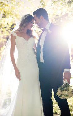 6477 Casual Chic Wedding Dress by Stella York