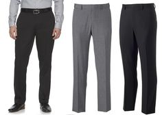 Simply put, dress pants like these say it all. Slim fit sits below the waist and is tailored through the hip and thigh with a narrow leg opening. Sizes: 36 x 38 x 38 x Mens Blue Dress Shirt, Blue Long Sleeve Dress, Mens Dress Pants, Dress Shirt Sizes, Men's Pants, Slim Fit Dress Pants, Slim Fit Dresses, Nice Dresses, Dockers Pants