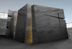 Holy Redeemer Church by Fernando Menis in Tenerife, Spain