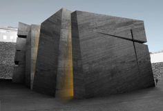 Holy Redeemer Church by Fernando Menis in Tenerife, Spain