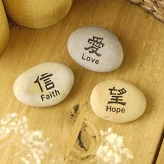 Love ... Faith ... Hope ...