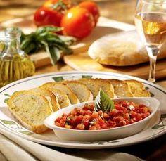 Delightful Hungry Marthau0027s Recipe Vault: Olive Gardenu0027s Bruschetta