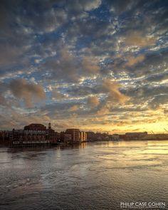 Cloudscape over Portsmouth by Philip Case Cohen, via Flickr