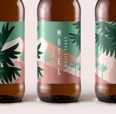 Motel is a Berlin-based craft-brewery with no fixed address. This packaging along with the photography have concept and design by…