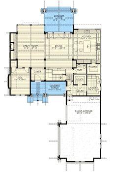 Impressive Craftsman Home Plan - 23468JD | Mountain, Northwest, Vacation, Luxury, 2nd Floor Master Suite, Bonus Room, Butler Walk-in Pantry, CAD Available, Den-Office-Library-Study, Loft, PDF, Corner Lot | Architectural Designs