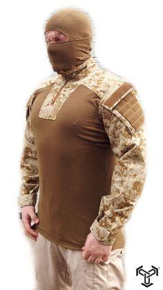 SPECOPS.PL BS-2 Combat Shirt in PenCott Sand Storm