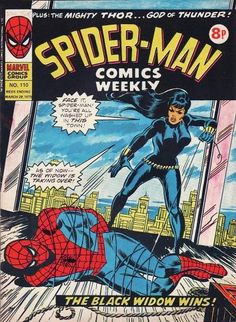 Spider-Man Comics Weekly #110, Black Widow