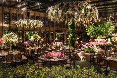 Decoração de casamento em clima de jardim - Constance Zahn | Casamentos