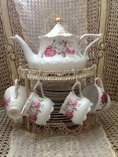porcelana para el té