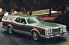 What a classic! Who knows someone who owned one of these? 1977 Ford LTD Ii Squire