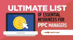 Ultimate List of Essential Resources for PPC Managers News Sites, Digital Marketing, Management, Essentials, Writing, Seo, Goodies, Twitter, Sweet Like Candy