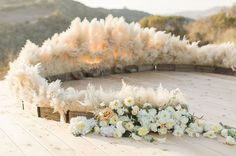 pampas grass decor