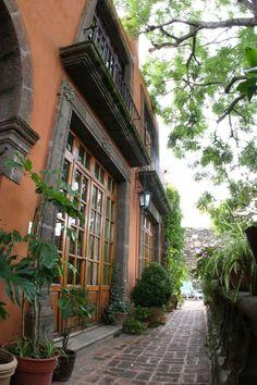 Casa Schuck boutique hotel interiors in San Miguel de Allende, Mexico