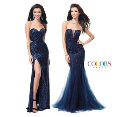 Which blue is perfect for you? COLORS DRESS Style 1178, 1179. #sexy #hair #gowns #prom #formal #formalwear