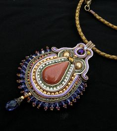Twilight Star Soutache pendant | Flickr - Photo Sharing!