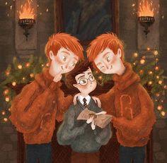 Harry Potter Illustration By Bocadebra