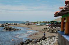 El puerto de Corinto, Nicaragua
