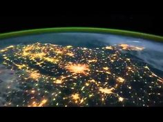 Exploring Northern Lights from space with a  Kids Art activity