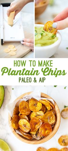 How To Make Baked Plantain Chips (Paleo, AIP) - Unbound Wellness
