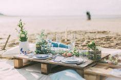 Wedding on the beach Wedding decoration Wedding boho