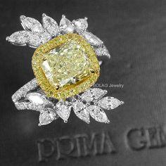 🎵I like big #rings and I cannot lie!🎵 💛 Fancy #YellowDiamond Ring by @mew_primagems  #love #diamondsareforever #like #nice #amazing #extraordinary #highjewelry #highjewellery #ghw #hot #stunning #instagood #awesome #breathtaking #luxury #diamonds #fabulous #jewelry #fashion #jewellery #jewelleryaddict #jewelleryporn #bigrings #bola3jewelry