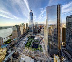 1 & 4 World Trade Center  by Tony Shi., via Flickr