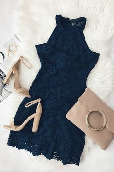 28412a7c3f135 16 Best Navy dress outfits images | Fashion dresses, Casual outfits ...