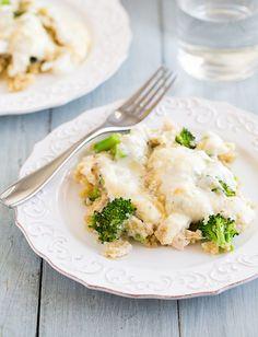 Creamy Chicken Quinoa Casserole