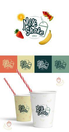 Logo design - milkshake