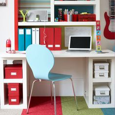 IPC | thisoldhouse.com | from 27 Inspirational Homework Areas and Study Stations