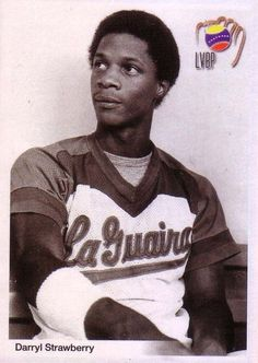Darryl Strawberry ''USA'' Tiburones De La Guaira