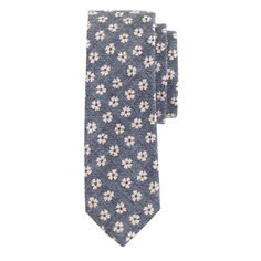 J.Crew - Cotton tie in ultramarine floral ~ Add to shopping cart? yes